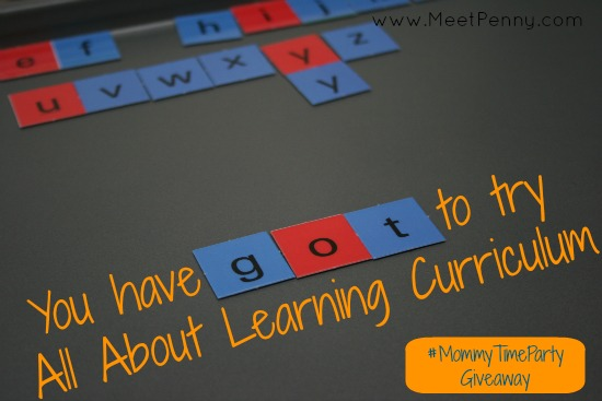 All About Reading is a perfect fit for visual, kinesthetic learners. If you have an active child, come check out this #homeschool curriculum! #MommyTimeParty giveaway 5/14 - 5/24