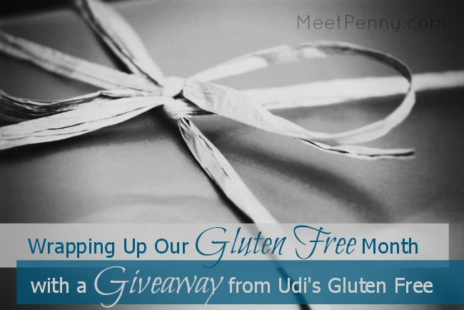 Wrapping Up Our Gluten-Free Month (Giveaway from Udi's Gluten Free)