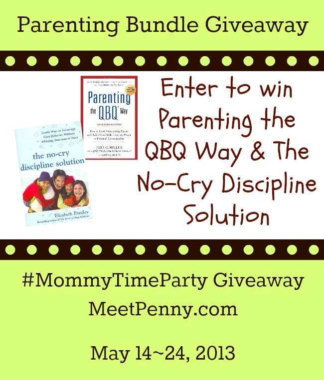 Parenting the QBQ Way & The No-Cry Discipline Solution