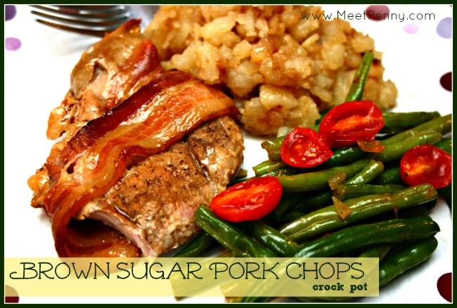 RECIPE: Brown Sugar Crock Pot Pork Chops