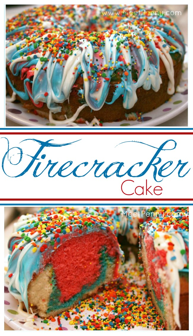 Firecracker Cake to Cook with Kids