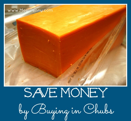 save money on groceries by buying in bulk chubs