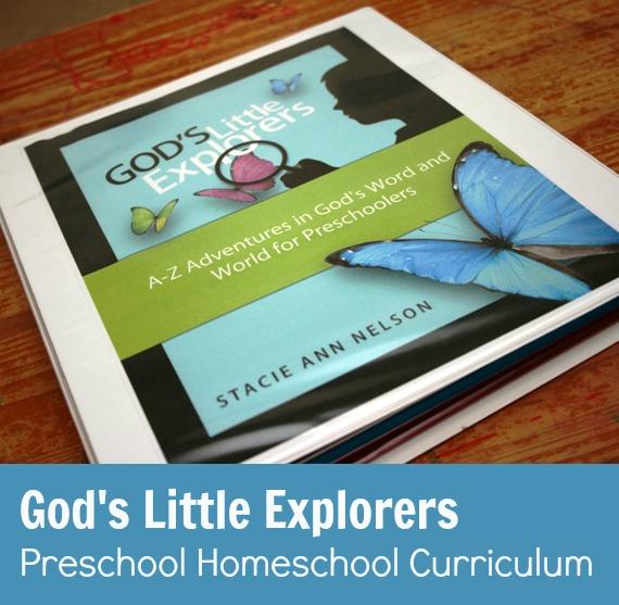 Gods Little Explorers Preschool Homeschool Curriculum - Review & Giveaway