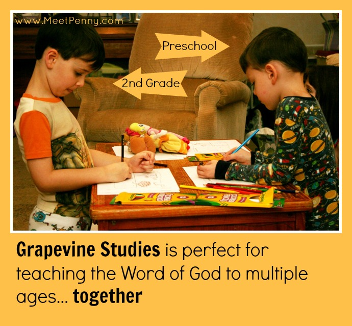 Using Grapevine Studies as family devotional makes it easy to keep everyone engaged together