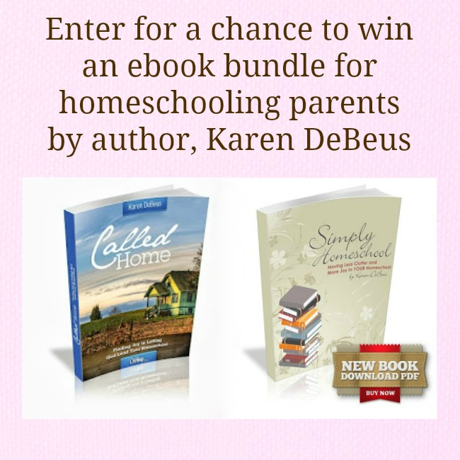 Simply Homeschool Ebook Bundle (Mommy Time Party Giveaway)
