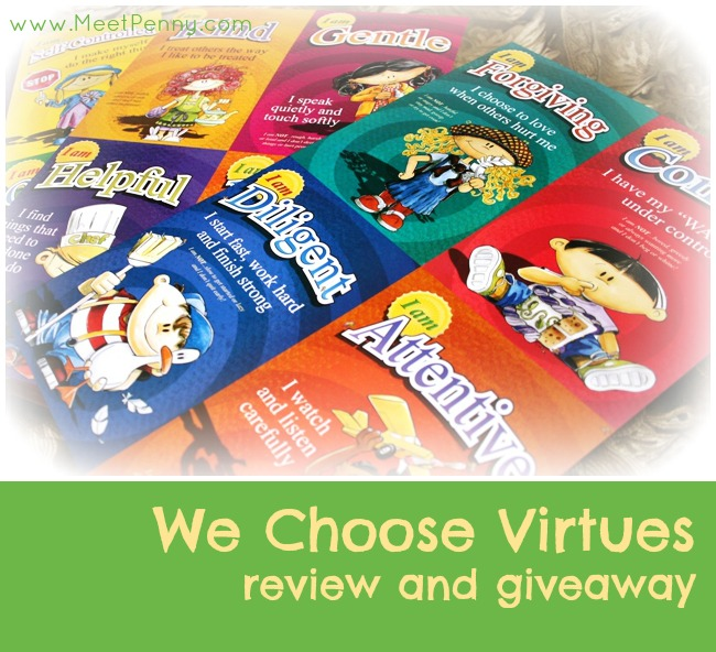 We Choose Virtues Parenting Cards Review (and Giveaway)