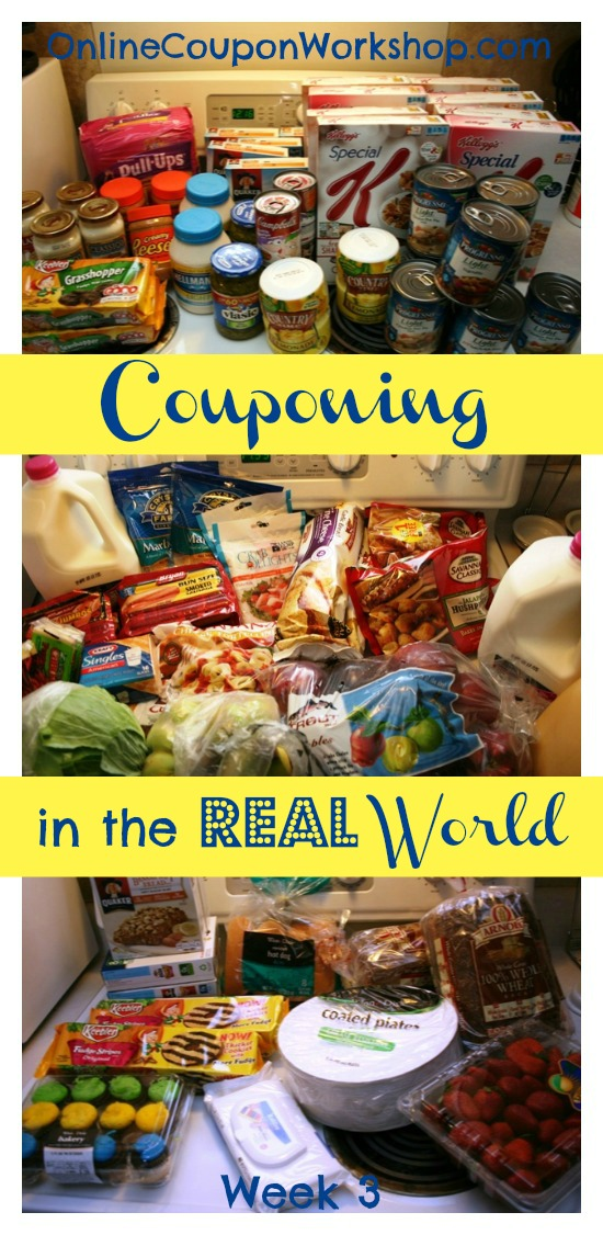 Couponing in the Real World: March ~ Week 3