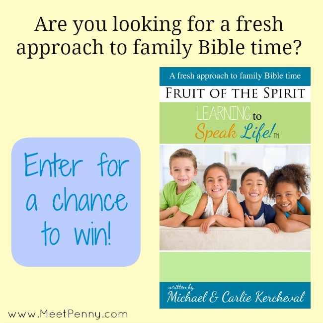 Learning to Speak Life: Fruit of the Spirit (Mommy Time Party Giveaway)