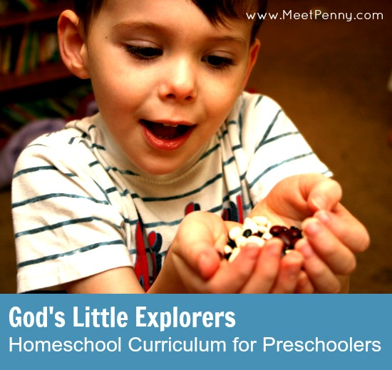 homeschool curriculum for preschool