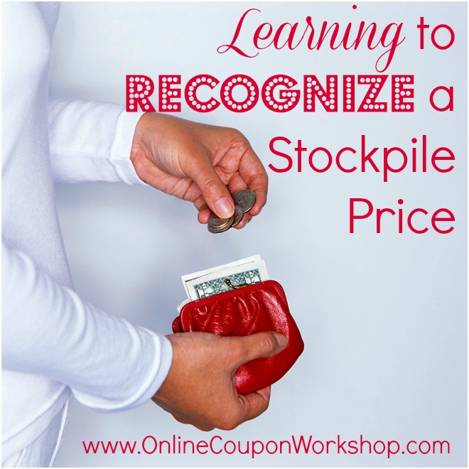 Learn to recognize a low price so you can stockpile and save more.