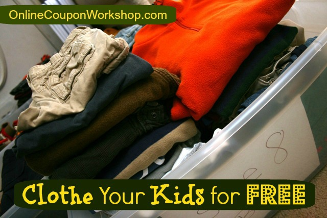 How to Clothe Your Kids for Free (or Cheap)