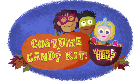 FREE Costume & Candy Printable Pack
