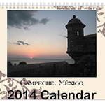 2014 calendar to benefit a missionary family