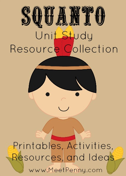 Squanto Unit Study Resources