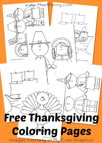 Gorgeous image in free printable thanksgiving coloring pages