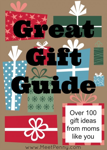 Great Gift Ideas Printable Guide with Shopping List (Linky)
