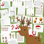 Santa PreK-K Printable Activity Pack