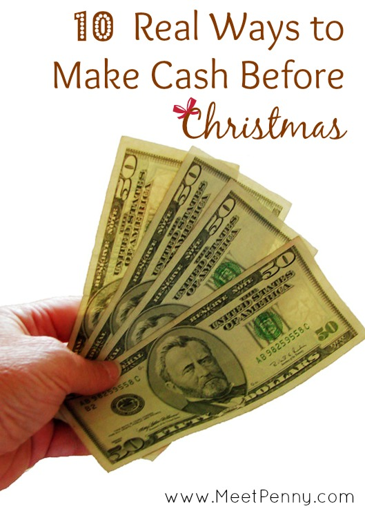 10 Ways to Get Cash Before Christmas