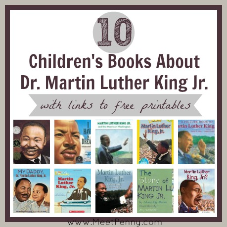 10 Children's Books About Dr. Martin Luther King Jr.