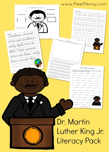 Dr. Martin Luther King Jr. Printable Pack