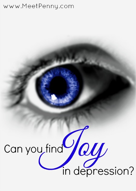 Is it possible to find joy in the middle of your depression?