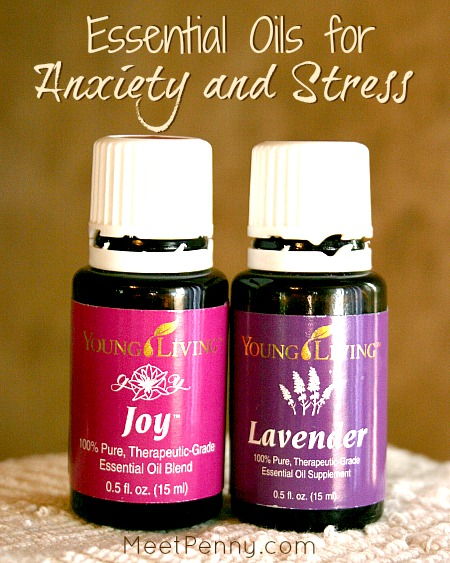 Essential oils for anxiety and stress meet penny