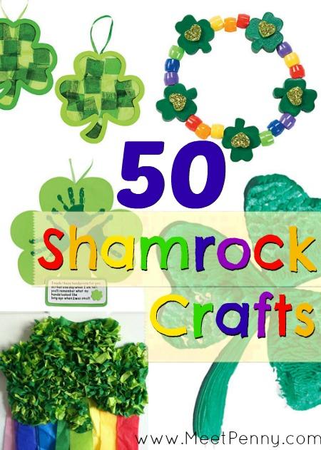 50 Shamrocks Crafts for Kids