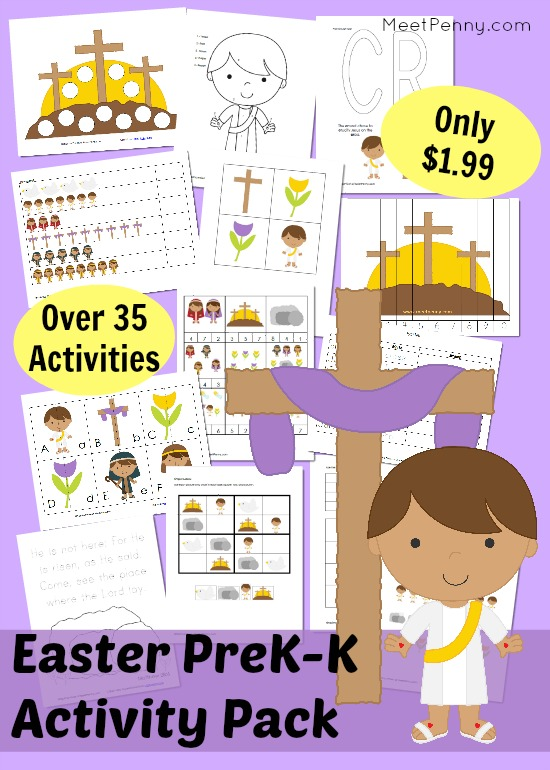 Christian Easter Printable Activities