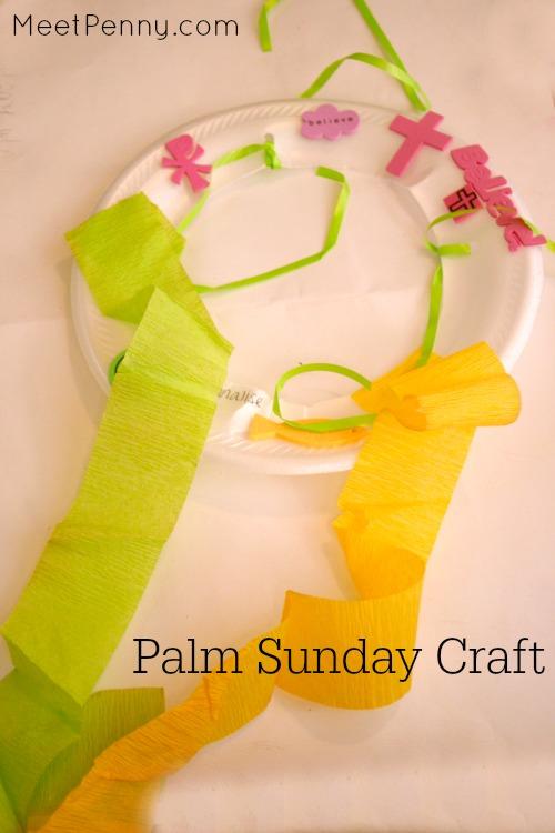 3 Palm Sunday craft ideas