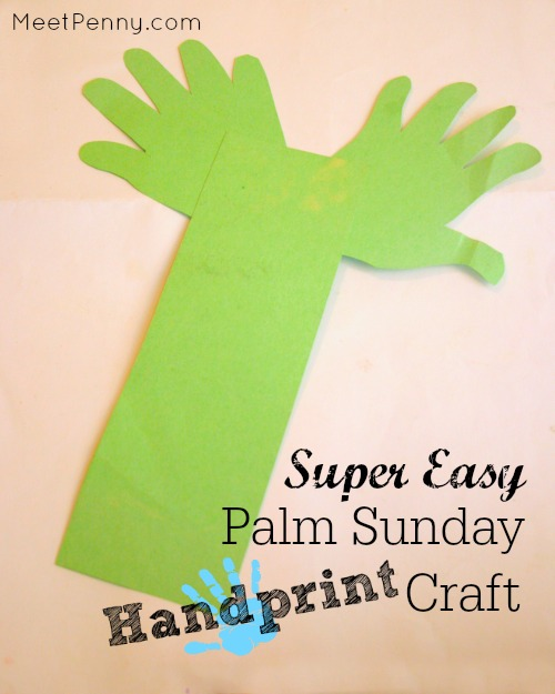 Check out all three Palm Sunday crafts - This one is the easiest but none of them are complicated.