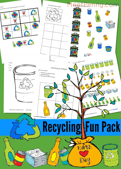 Earth Day Coloring & Activity Pages