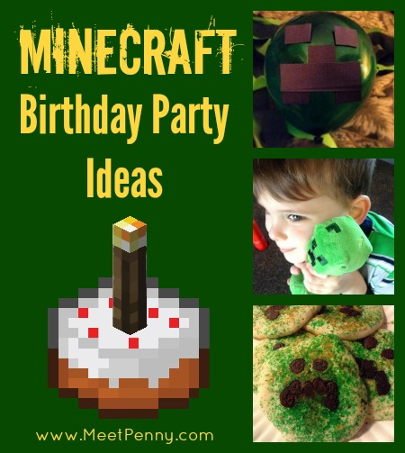 Minecraft Birthday Party Ideas Meet Penny