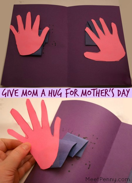 Handprint Crafts for Mother's Day