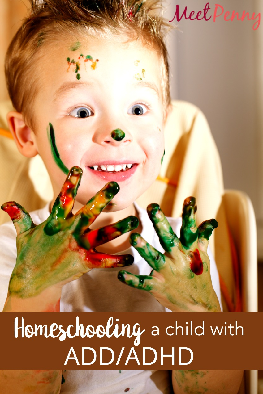 Homeschooling a Child with ADD ADHD