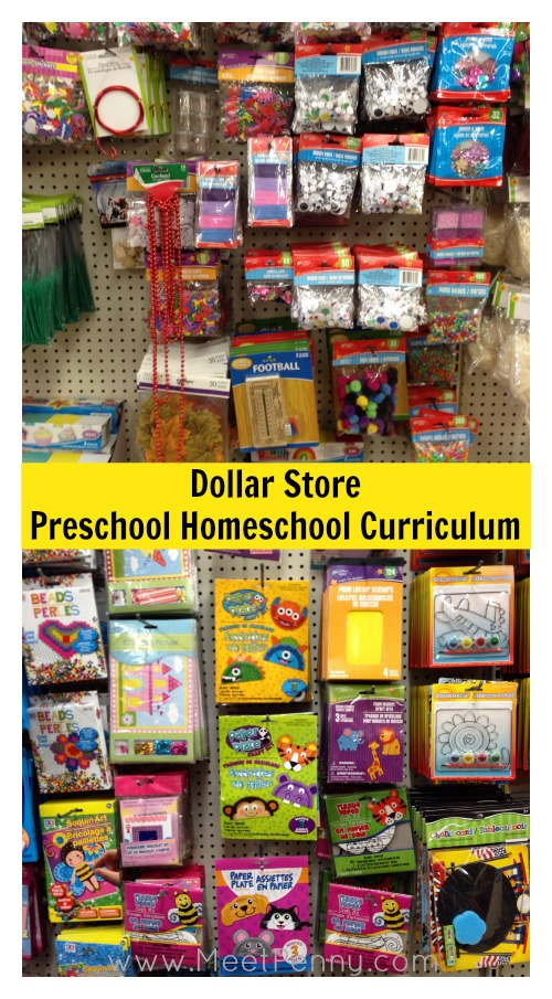 Dollar store preschool homeschool curriculum meet penny for Dollar store items online