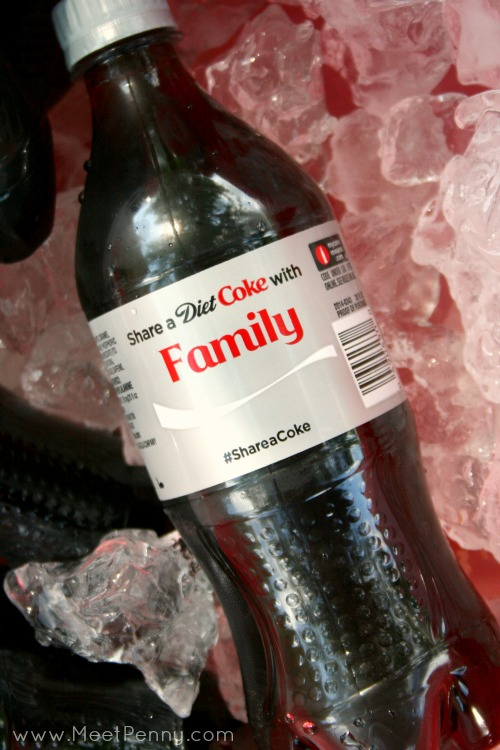 """Love these new personalized Coca Cola bottles!  So many names. I didn't know they had some that just say """"family."""" Wonder if they have one that says, """"friend."""" #payitforward #shareitforward #shop"""