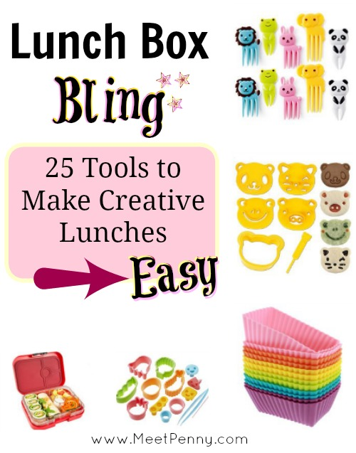 Lunch Box Bling: Tools to Make Creative Lunches