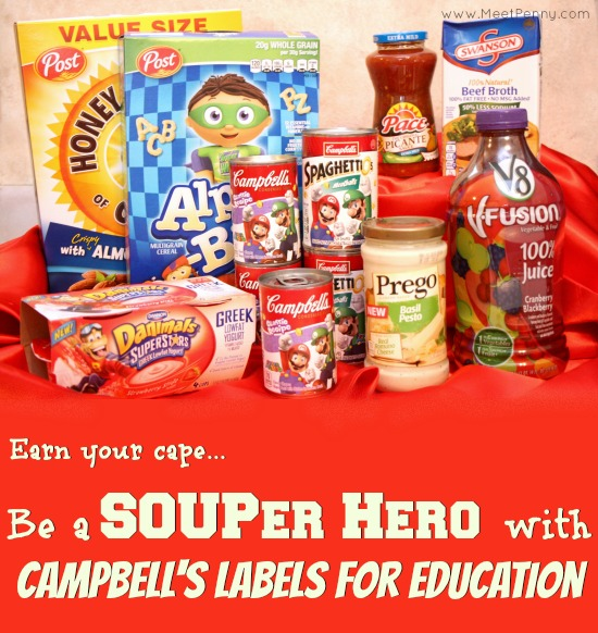 Campbell's Labels for Education is a great way to help your local schools and it costs you nothing extra! #shop #cbias #labels4edu
