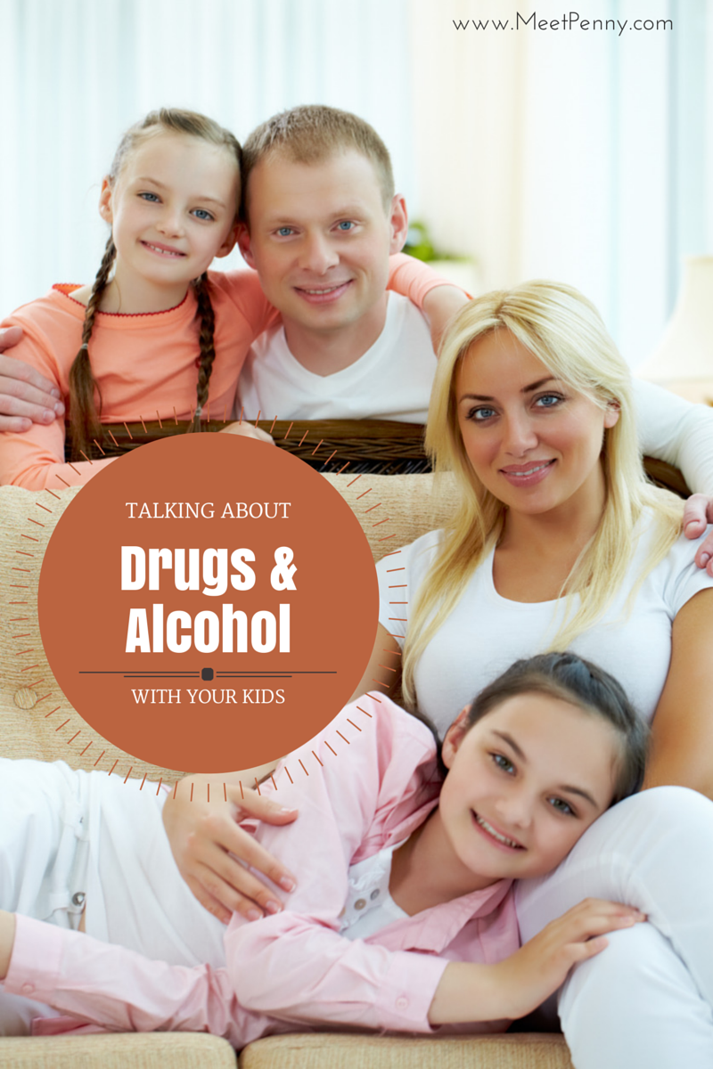 I love the practicality of these steps... ways you can begin talking to your children even at young ages about drugs and alcohol. These conversations do not need to be so difficult.