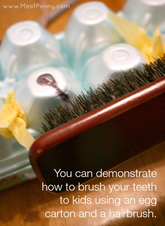 healthy teeth activities - how to brush