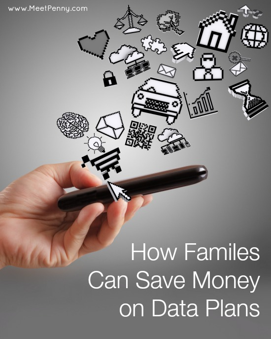 Two great tips for how you can save money on the family's data plan. #ItsANewDayForData