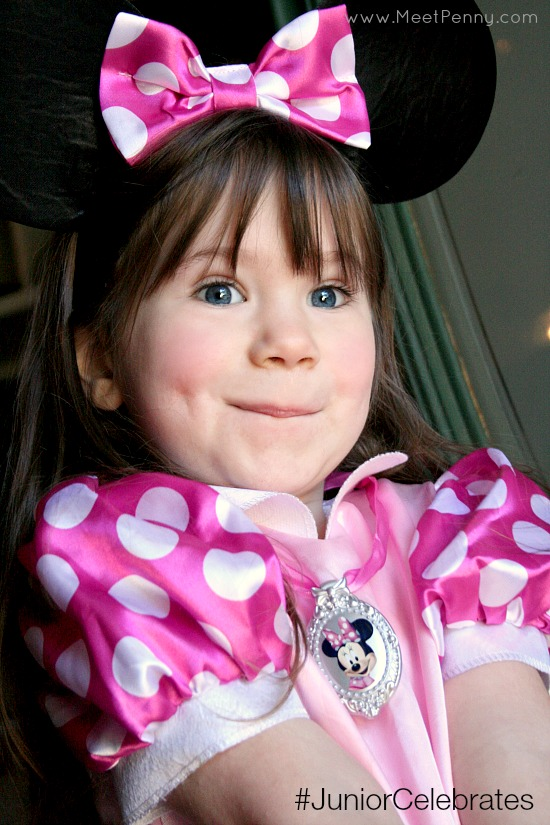 Creativity and Imagination with a Minnie Mouse Costume