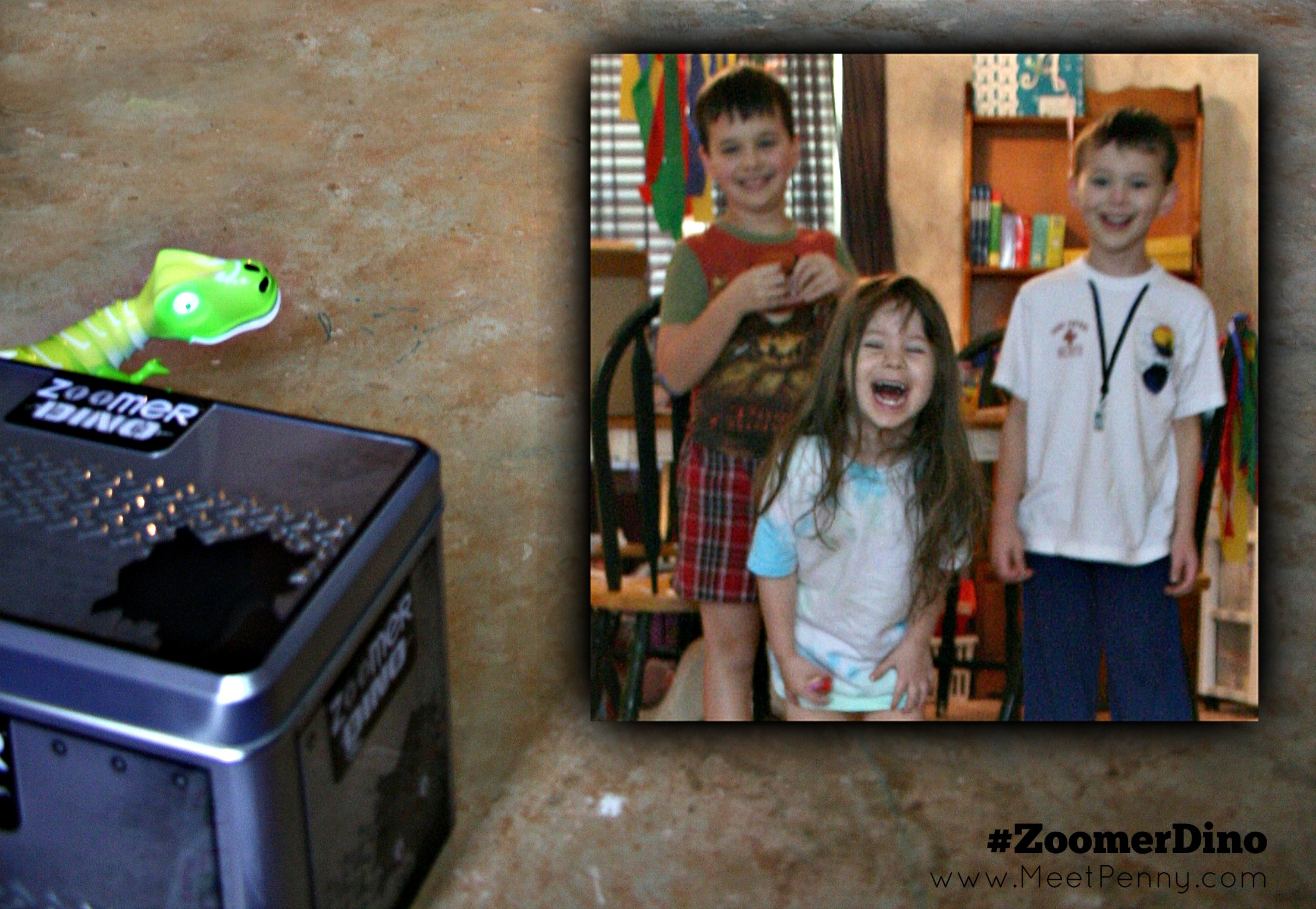 Great gift idea for ages 5 and up. Zoomer Dino by Spin Master is one of the hot toys of the year!