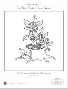 Free Ann Voskamp Jesse Tree Coloring Pages PDF