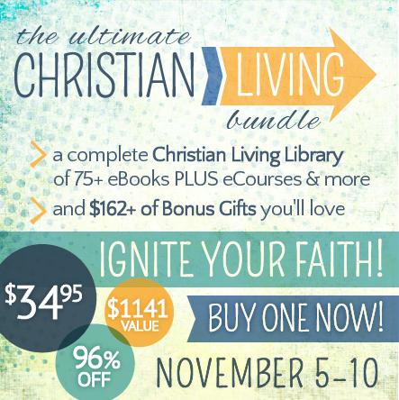 EXPIRED: Inspirational Bundle Sale for Christian Living