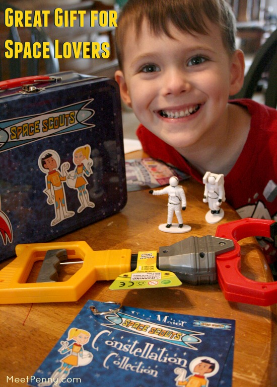 Great Gift for Space Lovers with Space Scouts