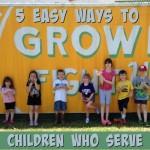 teach children to serve others