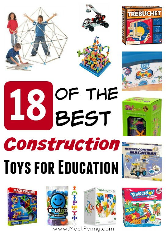 Construction Toys for Education