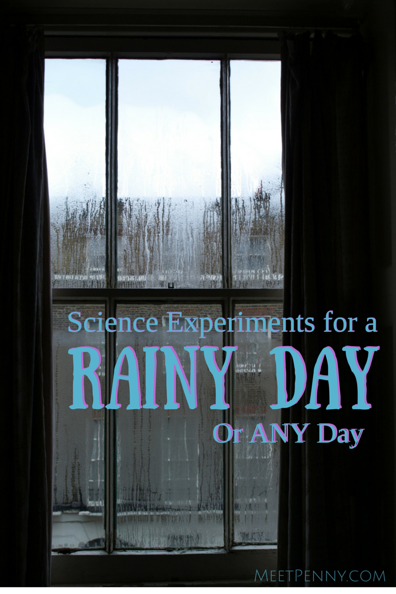 Rainy Day or Any Day Science Fun!