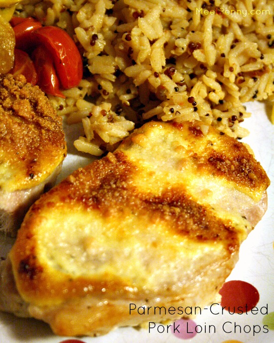 Super easy pork loin chop recipe. Just put it in the oven and go read a book.